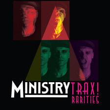 MINISTRY - Trax! Rarities 2 x LP - SEALED - Red Colored Vinyl Album - Wax Trax