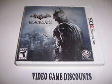Original Box Case for Nintendo 3DS Batman Arkham Origins Blackgate *NO GAME*
