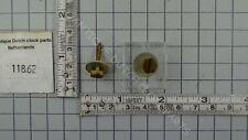 SCREW SET TO FASTEN UW CLOCKWORK TO CASE FRIESIAN TAIL CLOCK