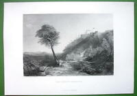 ITALY Loretto - Vintage Antique Print by JMW TURNER