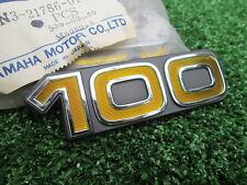 # Yamaha DX100 YB100 Emblem Side Cover 2N3-21786-01 NOS