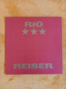 LP RIO REISER CBS Schallplatten GmbH 1990
