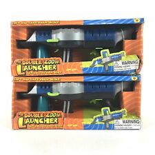 The Double Zoom Dual Foam Disc Launcher Two Triggers And Sci-Fi Space Sounds X2