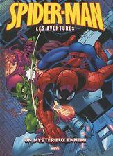SPIDER-MAN - LES AVENTURES  N° 9   :  UN MYSTERIEUX ENNEMI
