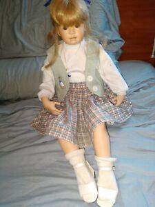 "MasterPiece Gallery 24"" Porcelain Doll by Heidi Plusczok #381/1500"