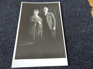 Social History Postcard Old Couple Bolton Lancashire - 45446