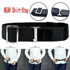 Near Shirt-Stay Best Shirt Stays Tuck It Belt Adjustable Shirt Tucked Men's Belt
