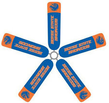 Ceiling Fan Blade FABRIC Cover BOISE STATE  BRANCOS decor 5 pcs sports dorm/home