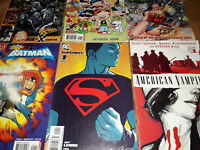 Comic Lot American Vampire Vertigo Batwoman Dark Knight X-Men Superboy Q