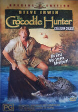 CROCODILE HUNTER - DVD Collision Course_Steve Irwin RARE