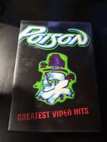 Poison - Greatest Video Hits (DVD, 2001) MINT
