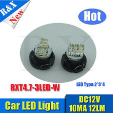 4X For vw GOLF MK4 99-2004 T4.7 LED SMD Car Light Bulb white rear interior light