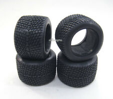 Front+Rear Rubber Rad Tire /w Insert for Kyosho Mini-Z Monster