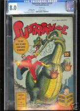 Supersnipe Comics v2 #3  CGC 8.0  VF  Universal CGC #0716473019