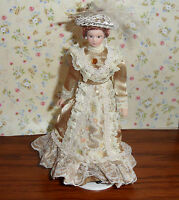 Beautiful Victorian Lady for the DOLLS HOUSE