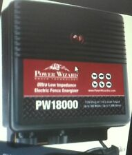 electric fence charger 18 joule power wizard 300 miles 30.00 discount