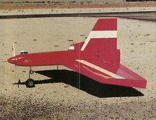 Desperado 60 Simitar Sport Plane Plans,Templates and Instructions 60ws