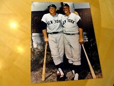 Photo Blowout Lot of 10 MICKEY MANTLE/ROGER MARIS 8x10 Unsigned Yankees Photos
