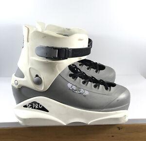 Salomon Chaz Sands Pro Aggressive Boot Skates 29/29.5 Mens Size 12 UFS Rare