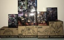 Transformers Victory Fansproject Ryo-Oh Dinoking full set with pretender shells