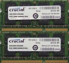 Mémoires RAM DDR3 SDRAM, 1 Go par module avec 2 modules