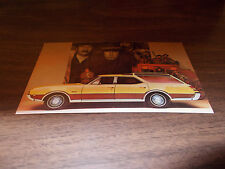 1969 Oldsmobile Vista-Cruiser Wagon Advertising Postcard