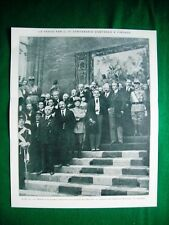 Nel 1921 Centenario Dantesco a Firenze, on. Bonomi + Nino Martoglio