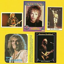 Peter Frampton Fab Card Collection Humble Pie and The Herd Frampton Comes Alive
