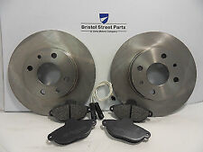 Fiat 500 1.2 Front Brake Pads And Discs Kit Solid