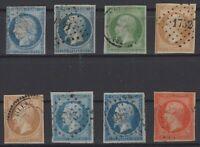 BR141311/ FRANCE – CLASSICS / LOT 1850 – 1853 USED CV 394 $