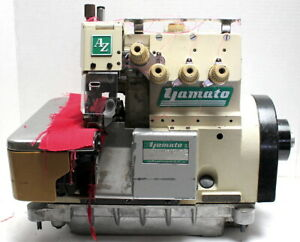 YAMATO AZ8600H C5DA Serger 2-Needle 5-Thread Industrial Sewing Machine Head Only