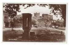 BAMBURGH Old Stone Drinking Fountain, RP Postcard by Valentine, Unused