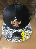 New Orleans Saints Snapback Hat Cap New Nfl Football