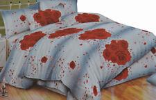 Completo letto piazza e mezza lenzuola stampa 3D DV londra marylin rose cuori