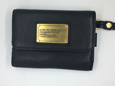 Marc by Marc Jacobs MBMJ Black Leather iPhone iPod Folio Wallet Wristlet Clutch