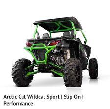 Arctic Cat Wildcat Sport HMF Performance Series Black Slip On Exhaust Muffler