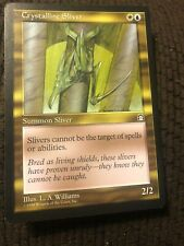 Magic The Gathering 1 x Victual Sliver LP MTG Stronghold