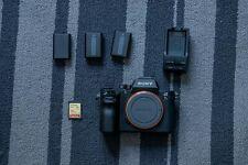 Sony Alpha a7R II Mirrorless Digital Camera - 42.4 MP, 4K VIDEO RECORDING