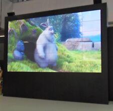 "Sport - Events - Public Viewing - Steglos Videowand 126"" Bilddiagonale 3x3 MPDP"