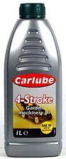 CARLUBE GARDEN 4T SAE 30 FOR GARDEN EQUIPMENT ENGINES REQUIRING API SF - 1LTR