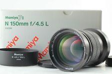 [ Near Mint w/ Box ] Mamiya N 150mm F/4.5 L Lens For Mamiya 7 7II From Japan