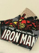 Face mask Covering Face protection Handmade Washable, Iron Man Adults