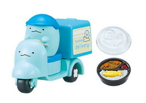 Re-ment Miniature Sumikkogurashi Otodoke! Sumikko Food Delivery rement No.05