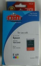 EMSTAR E69 Color ink jet print cartridge NIEUW kleur EPSON Stylus C62 CX3200 NEW