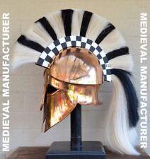 Medieval Wearable Greek Corinthian Helmet Free Leather Liner Knight helmet AS2