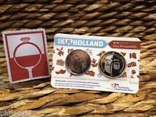 COINCARD NEDERLAND 2015 - HOLLAND COINFAIR - STROOPWAFELS - 2euro BU KWALITEIT