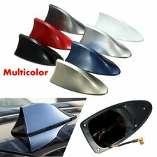 Universal Car Auto Roof Shark Fin Decorate Antenna Radio Signal AM FM Aerials