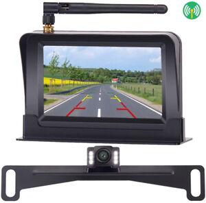 Wireless Hidden Backup Camera and 4.3'' Car Monitor Kit For Cars,SUVs,Minivans