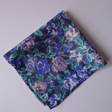 Anstie Liberty of London silk pocket square