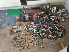 Massive Grand Bundle lego 13 kg, star wars, city, base de planches, 50 + mini figures, bateau